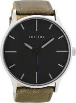 OOZOO Timepieces Grijs/Zwart Horloge C8551