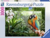 Ravensburger puzzel Papegaaien in de jungle 1000 stukjes