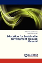 Education for Sustainable Development-Training Material