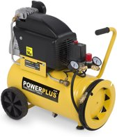 Powerplus POWX1790 Compressor - 10 bar - 1800 W - 2,5 pk - 24 liter - oliegesmeerd