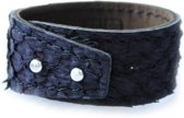 Aqualeather black Medium 3,5cm