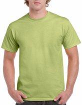 Pistachegroen katoenen shirt voor volwassenen L (40/52)