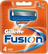 Gillette Fusion - 4 stuks - Scheermesjes - opzetstukjes