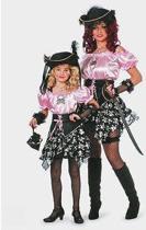 Piraten jurk voor dames 42 (xl)