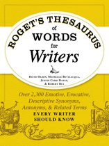 Omslag van 'Roget's Thesaurus of Words for Writers'