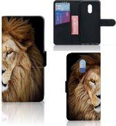 OnePlus 6T Telefoonhoesje met Pasjes Leeuw
