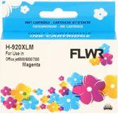FLWR - Inktcartridge / 920XL / Magenta - Geschikt voor HP