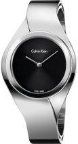 Calvin Klein K5N2M121 horloge dames - zilver - edelstaal