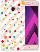 Samsung Galaxy A3 2017 TPU Hoesje Design Dots