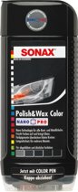 Sonax 296.100 Polish & Wax Zwart 500 ml