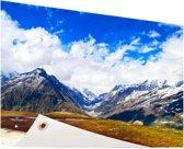 Himalaya in India Tuinposter 120x80 cm - Tuindoek / Buitencanvas / Schilderijen voor buiten (tuin decoratie)