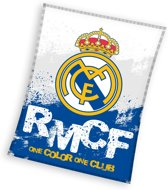 Real Madrid C.F. - Fleece - Plaid - 130x160 cm - Blue