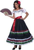"""Verkleedkostuum Spaanse danseres voor dames Feestkleding - Verkleedkleding - Medium"""