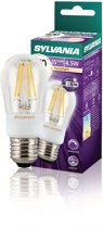 Sylvania Dimbare retro filament LED lamp Ball E27 470 lm
