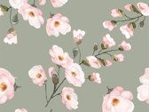 Vinyl Vloerkleed   Blossom   200x200cm