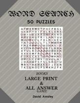 Word search 50 Puzzles Books Large Print & All Answer Game