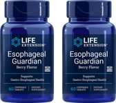 Esophageal Guardian, Natural Berry Flavour, 60 Chewable Tablets, 2-pack
