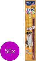 Vitakraft Beefstick Hond - Kalkoen - Hondensnack - 50 Stuks