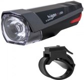 KOPLAMP XLC TRIGON USB LED BATT INCL. BEVESTIGING