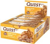 Quest Nutrition Quest Bars - Eiwitreep - 1 box (12 eiwitrepen) - Peanut Butter