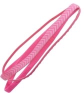 Haarband workout anti-slip roze