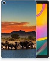 Backcase Samsung Galaxy Tab A 10.1 (2019) Design Olifanten