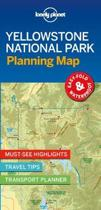 Lonely Planet Yellowstone National Park Planning Map