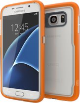 GEAR4 Black IceBox Shock Case - Samsung Galaxy S7 Hoesje - Oranje