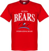 Rusland Rugby T-Shirt - Rood - S