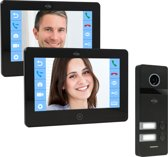 ELRO PRO PV40 Full HD Video Deur Intercom Systeem – 2 Bewoners