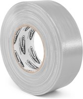 Gaffa tape - Gaffer tape - Showtec theater gaffa tape - Grijs - 50mm breed - Rol van 50 meter