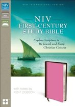 NIV, First-Century Study Bible, Leathersoft, Brown/Pink