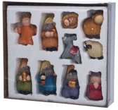 Cosy&Trendy Kerststal figuren Set-10