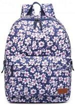 Miss lulu rugzak flower pattern (e6609 be)