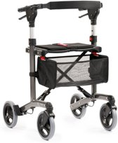 Rollator MultiMotion Trollimaster RA60 Antraciet Medium