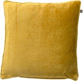 Dutch Decor Kussenhoes Velvet 70x70 cm oker