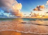 Papermoon Caribbean Beach Vlies Fotobehang 200x149cm 4-Banen