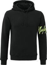 Captain Hoodie - Black/Neon Yellow