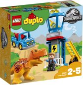 LEGO DUPLO Jurassic World T-Rex Toren - 10880