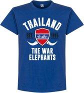 Thailand Established T-Shirt - Blauw - XXL