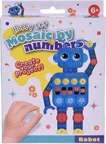 Free And Easy Mozaïekkunst Robot 5-delig
