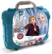 Schrijfset koffer Frozen II: 81-delig (42981)