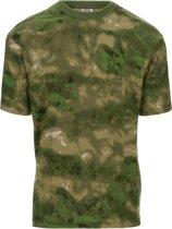 101inc T-shirt Recon ICC FG groen