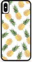 iPhone Xs Max Hardcase hoesje Ananas