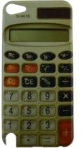 Ipod Touch 5 en 6 Hoesje Retro Rekenmachine - Hardcase - Jongen