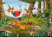 Legpuzzel - 500 stukjes - Heks - Picknick , Francois  Ruyer - Grafika puzzel