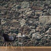 Fotobehang - Stenen gordijn