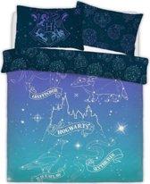 Harry Potter dekbedovertrek - Celestial Magic - tweepersoons met 2 kussenslopen