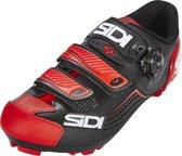 Sidi Trace Schoenen Heren, black/red Schoenmaat EU 38