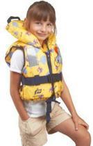 reddingsvest/zwemvest 10-20 kg kind 2-5 jaar Geel iglo motief